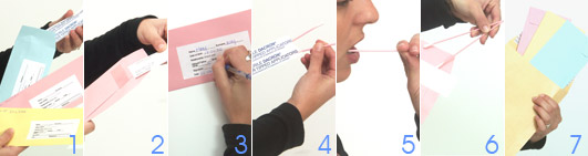 Rassembler les énchantillions par le Kit Test ADN